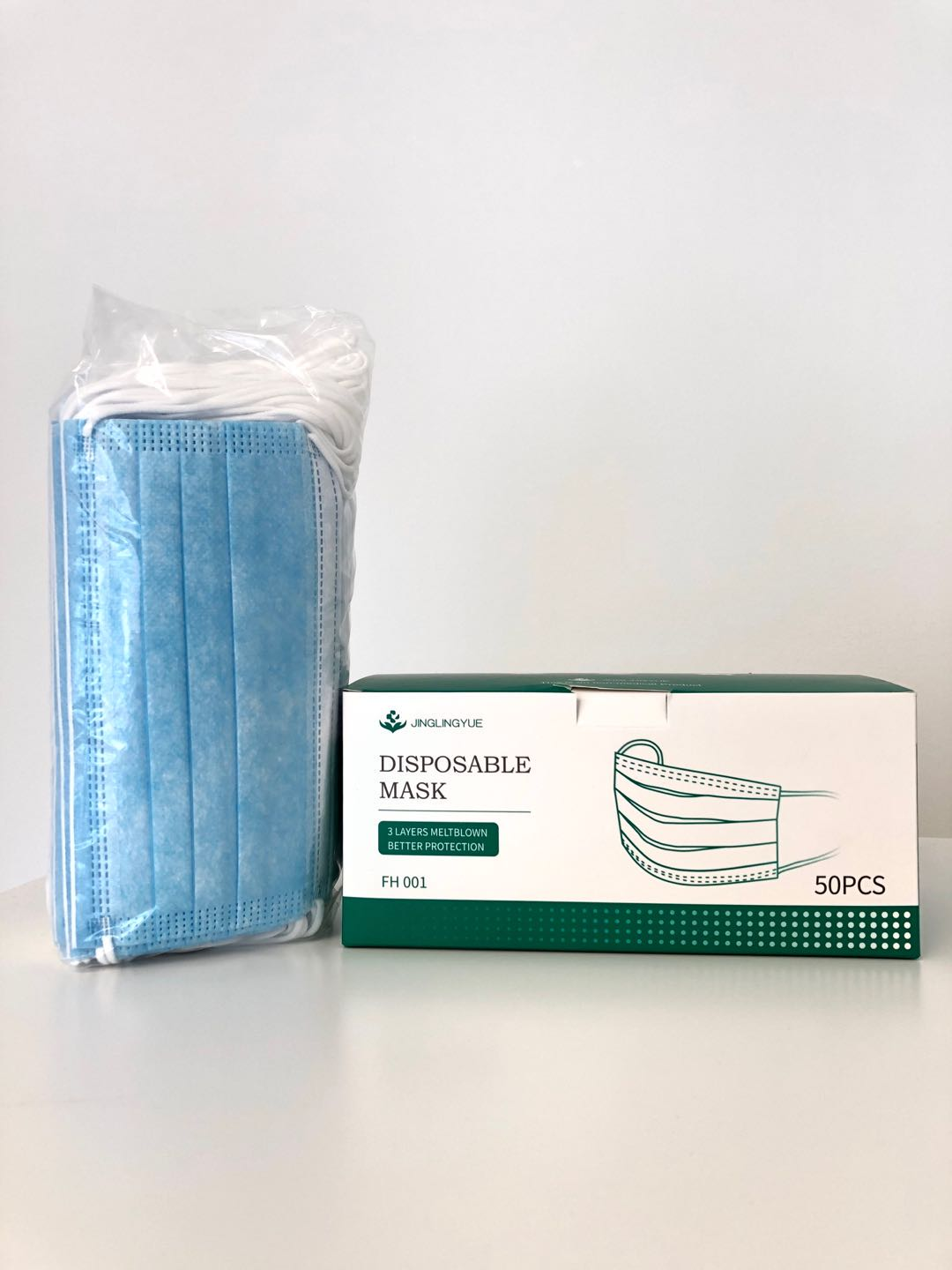 3 Ply Disposable Masks | BFE >99%, PFE > 97%  (40 Boxes / 2000 Pieces) (SAME DAY AND FREE SHIPPING)