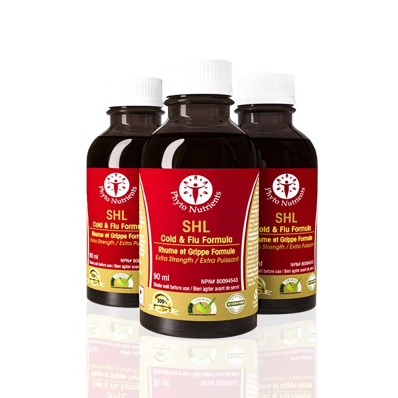 SHL Cold and Flu Formula 3 Bottle Combo (MADE IN CANADA) (LIMITED OFFER)